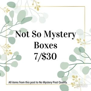 Not So Mystery Box Sale